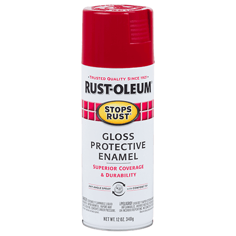 Rustoleum Stops Rust Regal Red Protective Enamel Spray