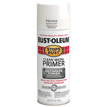 Rustoleum Stops Rust White Clean Metal Primer Spray