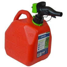 Scepter FR1G201 Gas Can, 7.6 L Capacity, HDPE, Red