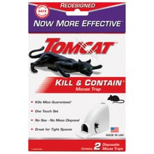 Tomcat Mechanical Mouse Trap, Plastic, 2 Pack