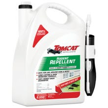 Tomcat 368208 Rodent Repellent with Comfort Wand, Rodent, 2550 sq-ft Coverage Area Jug