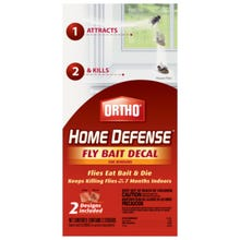 Ortho Home Defense Fly Bait Decal, Solid Envelope