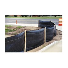 Silt Fence with Pre-Attached Posts (3' x 100')