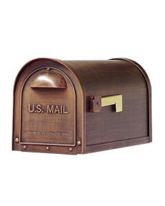 Special Lite Classic Curbside Post Mount Mailbox