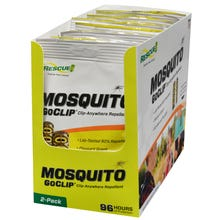 RESCUE Mosquito GoClip, Peppermint 2 Pack
