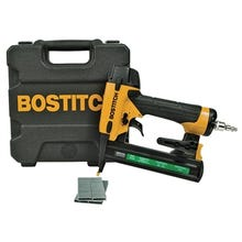 Bostitch SX1838K Stapler Kit, 1/4 in Air Inlet, 100 Magazine, Narrow Crown Staple, 7/32 in W Crown, Magnesium