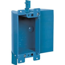 Carlon B117RSW Outlet Box, Clamp Cable Entry, Clamp Mounting, PVC