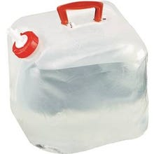 Texsport Collapsible Water Carrier, 5 gal, Polyethylene