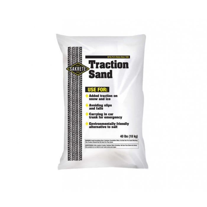 TRACTION SAND