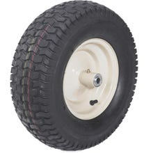 "16"" Heavy Duty Wheel Assemblies with Grease Fitting & Bearing with 6"" Wide 4-Ply Turf Tire"