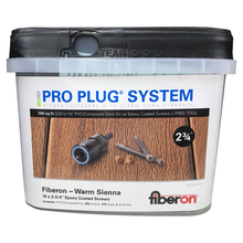Pro Plug® Fiberon Screw & Plug System in Warm Sienna