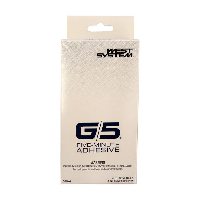 West System G/5 5 Minute Adhesive, 4 oz