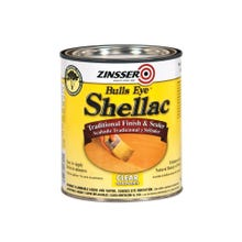 Zinsser 3 lb Shellac, Clear, Half Pint