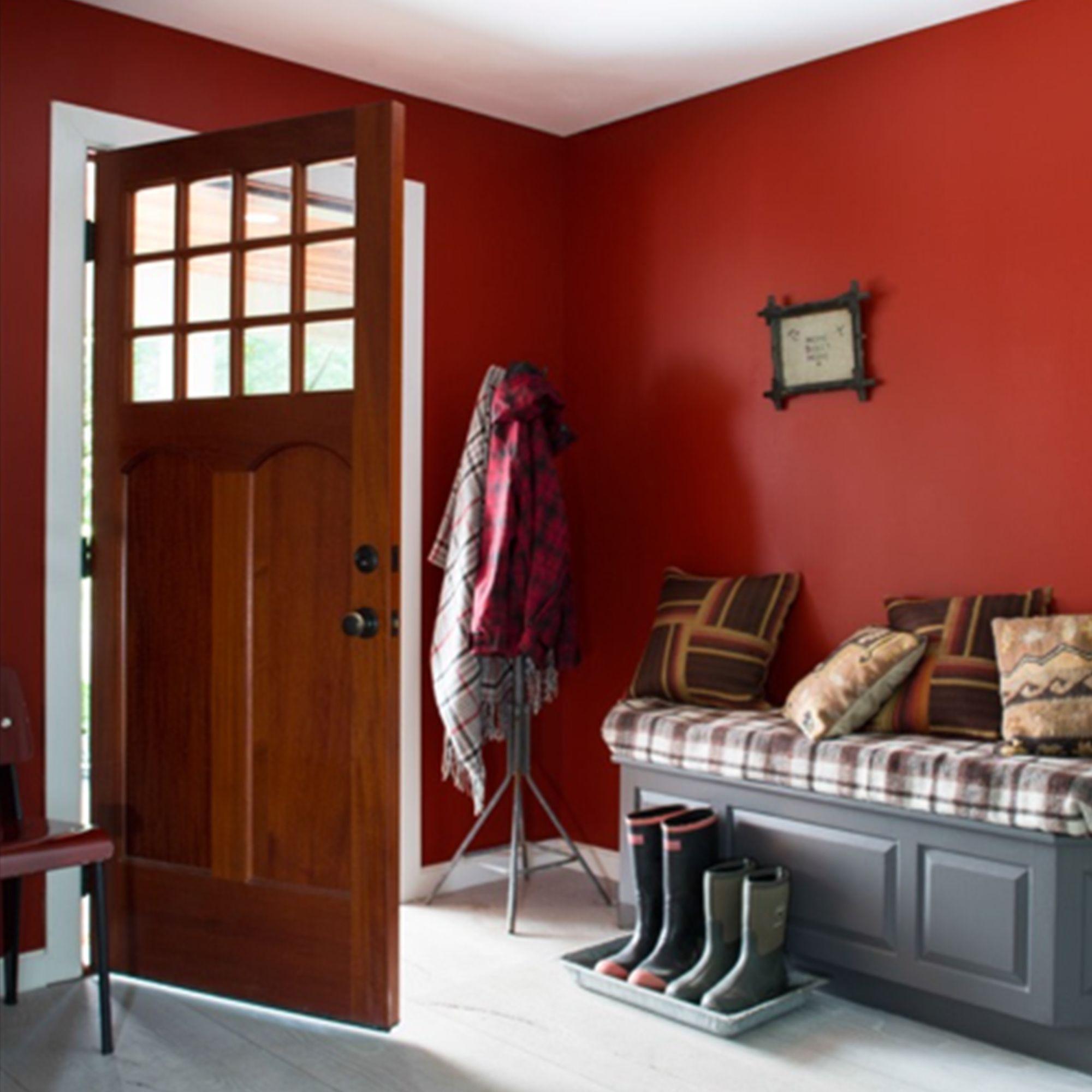 Entrance Smoldering Red