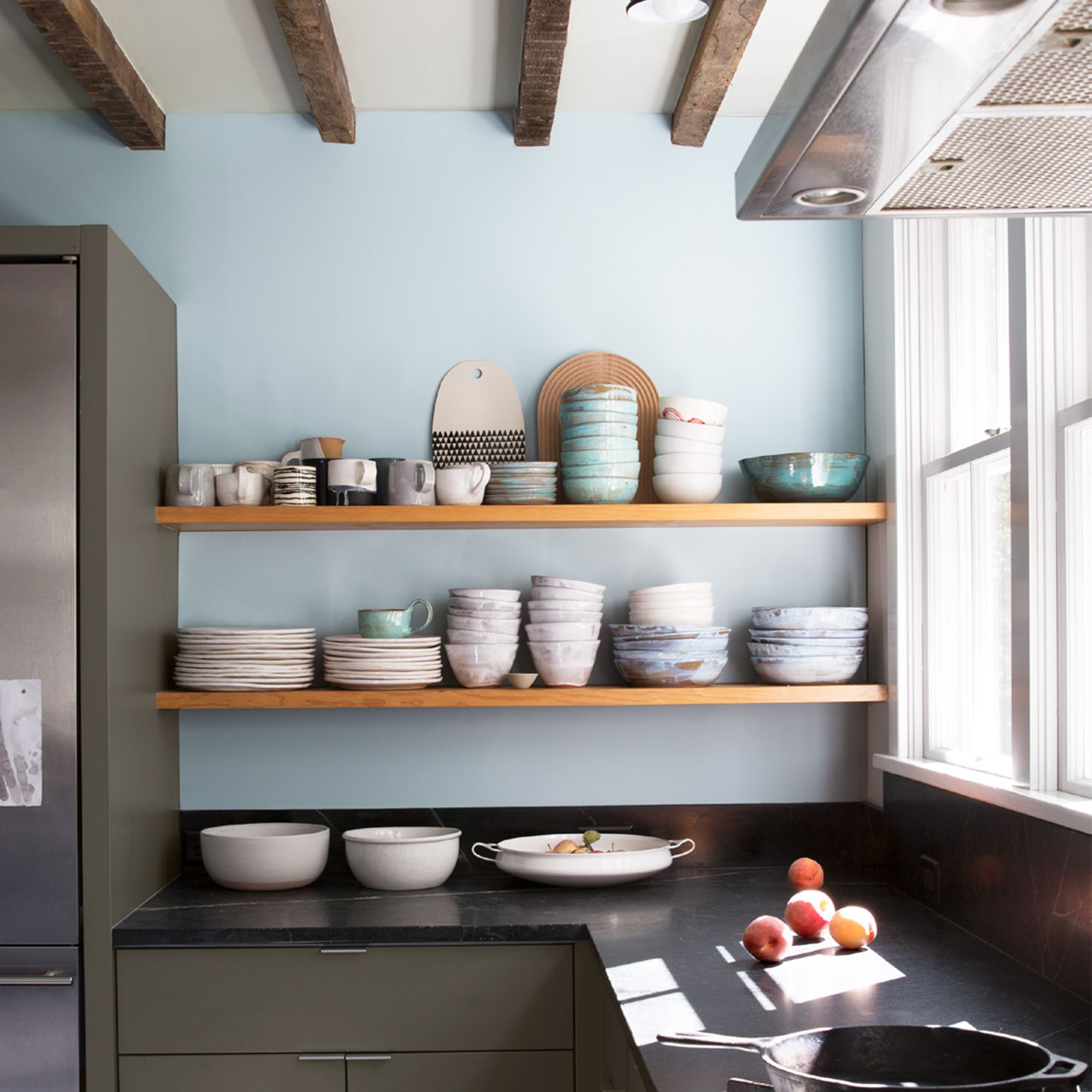 Kitchen with bowls