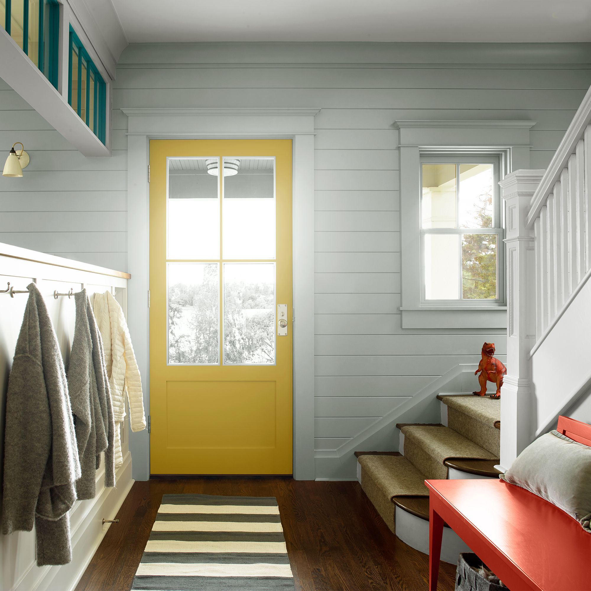 Mudroom with Bench
