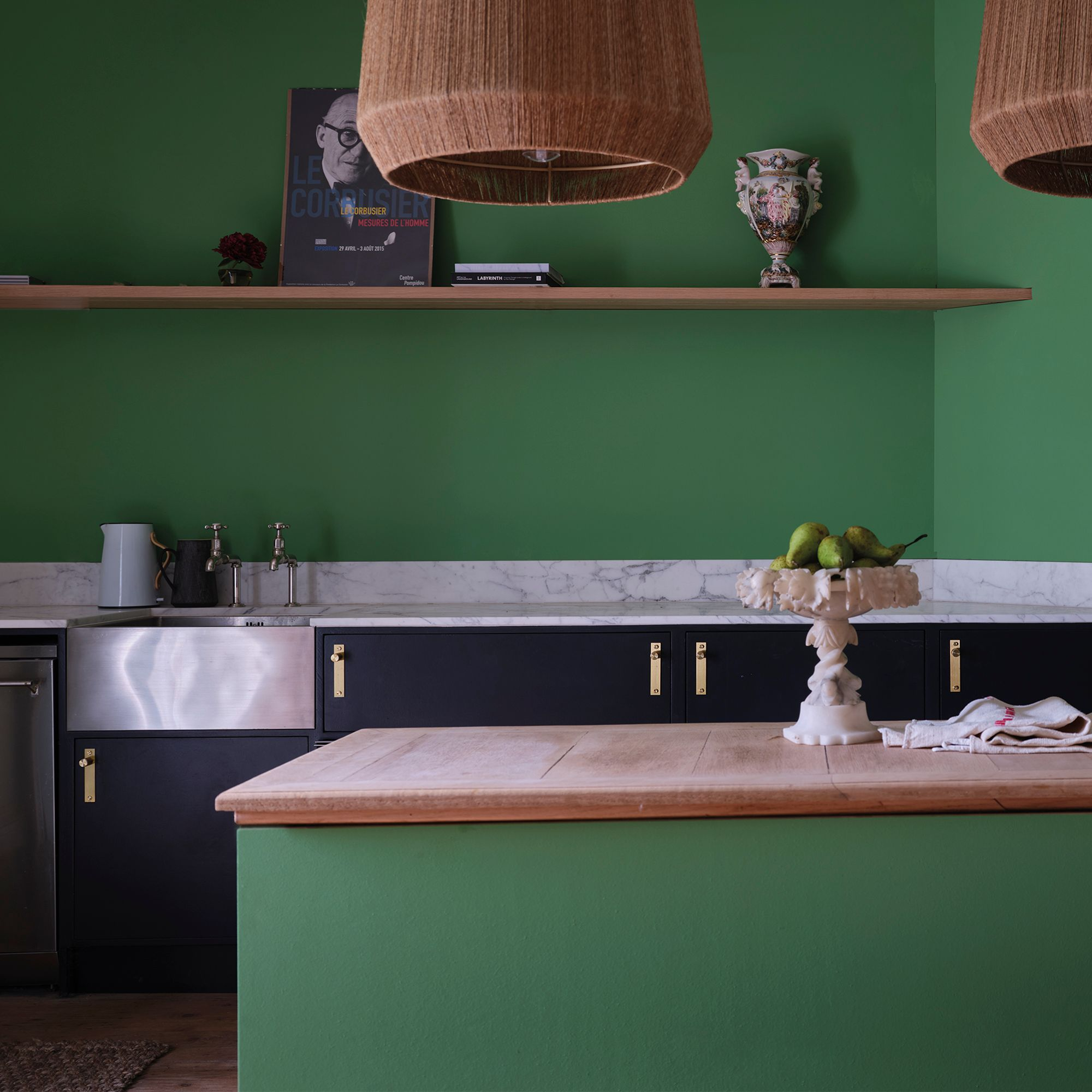 Emerald Green Kitchen