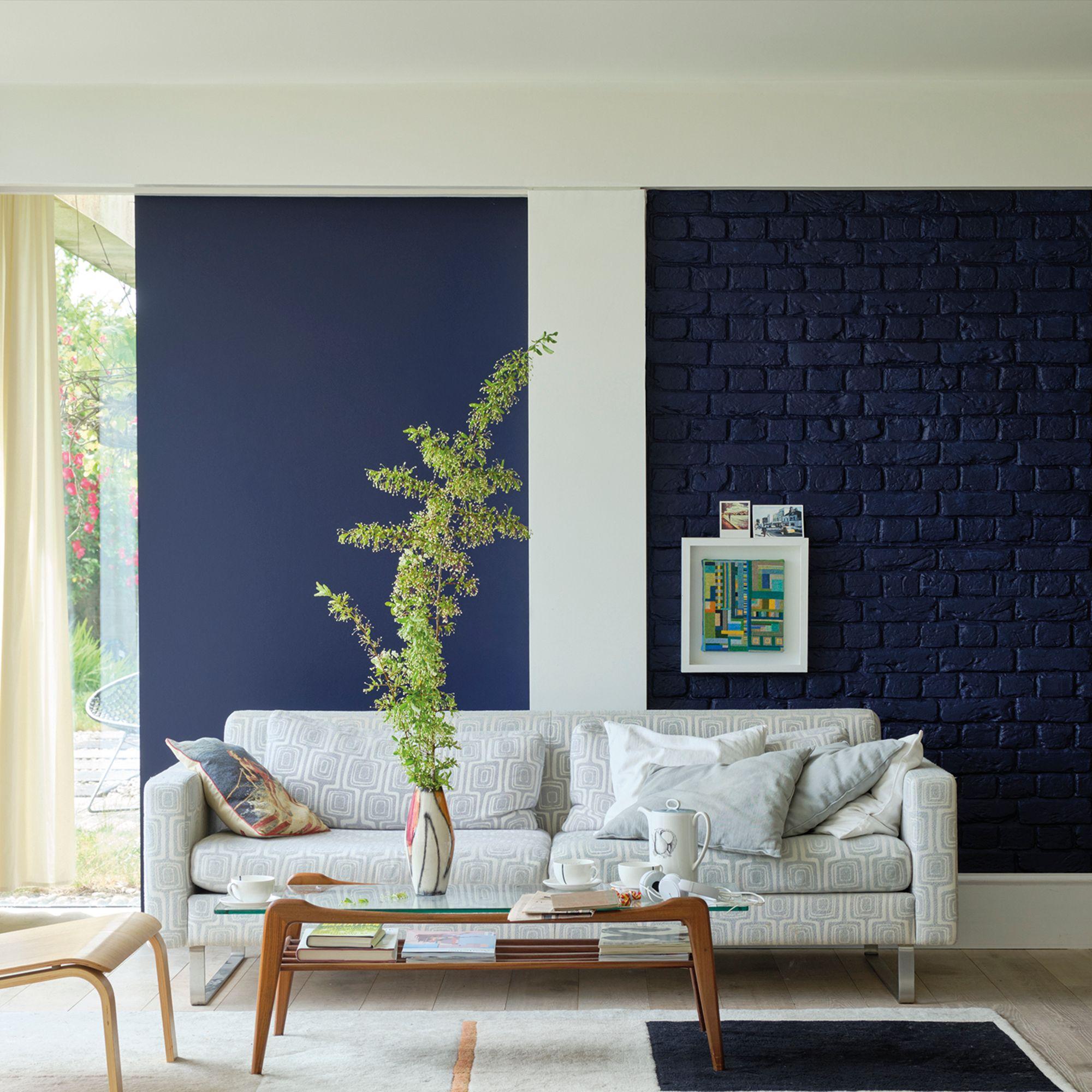 Scotch Blue Living Room