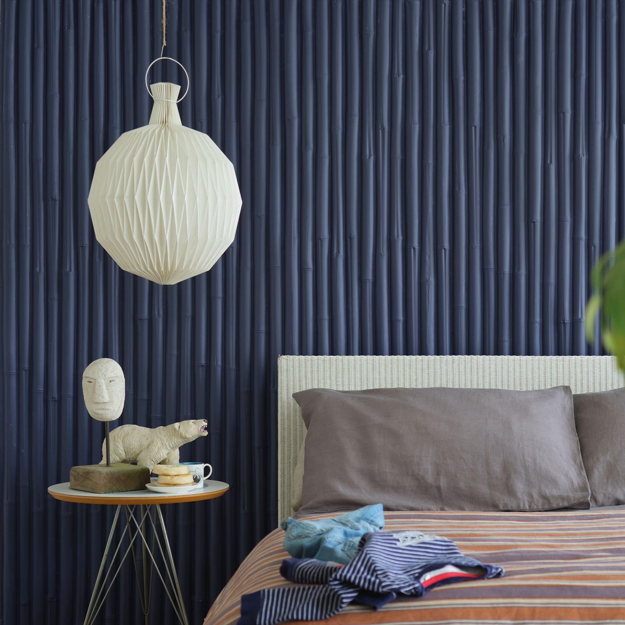 Ultra Marine Blue Bedroom