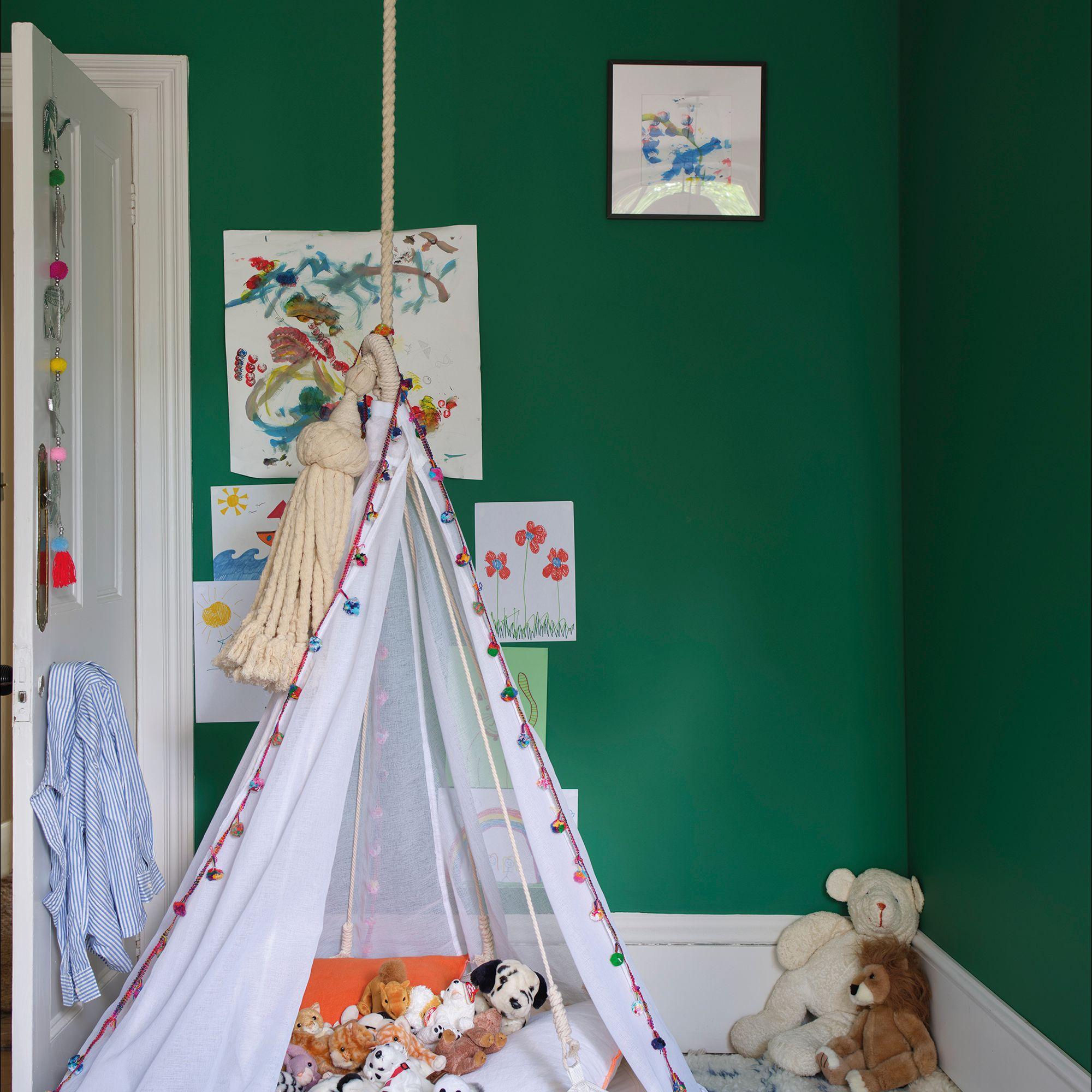 Verdigris Green Kids Room