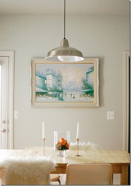 Moonshine dining room via The Sweetest Occasion