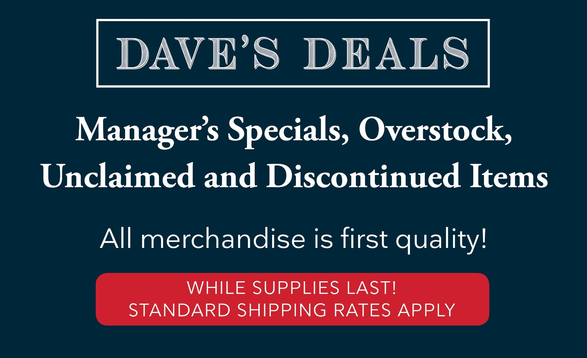 Ringsend Dave's Deals