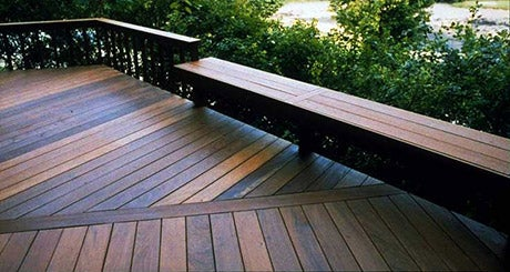 Wood Decking -- Ring's End