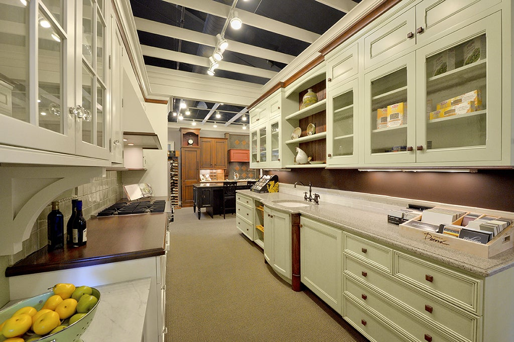 Our Spacious Kitchen And Bath Showrooms Allow You To Examine And Compare  Many Styles Of Quality Cabinetry And Countertops, In Many Beautiful  Materials.